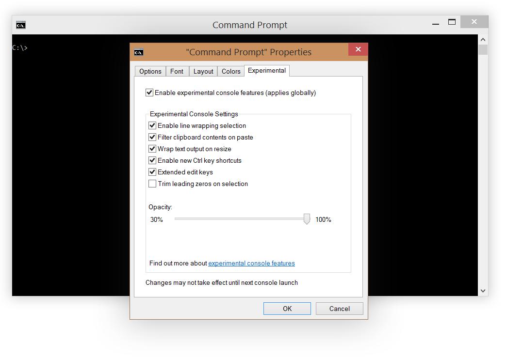 Windows 10: новые возможности и функции в командной строке