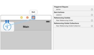 Нативный segue слева направо в iOS
