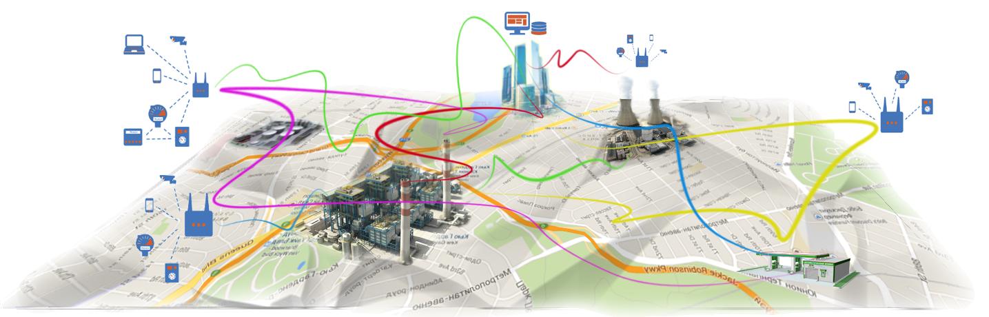 SDN: новые возможности управления потоками в mesh — сетях