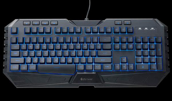 Устройства ввода CM Storm Octane имеют подсветку, цвет которой выбирается из семи вариантов