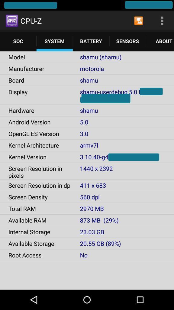 Nexus 6 (Motorola Shamu)