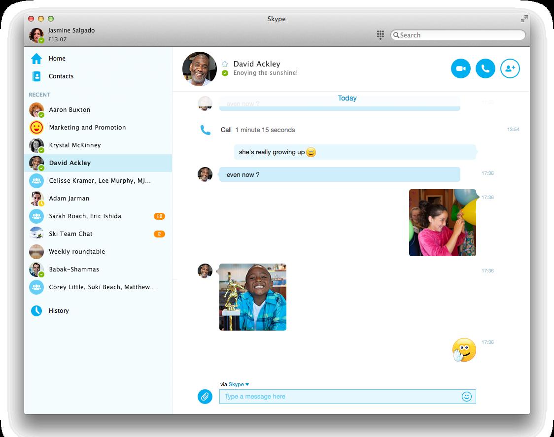 Microsoft поменял интерфейс Skype: чат теперь совсем другой