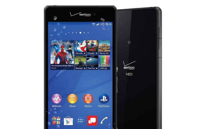 Sony представила выпущенный для США Xperia Z3v