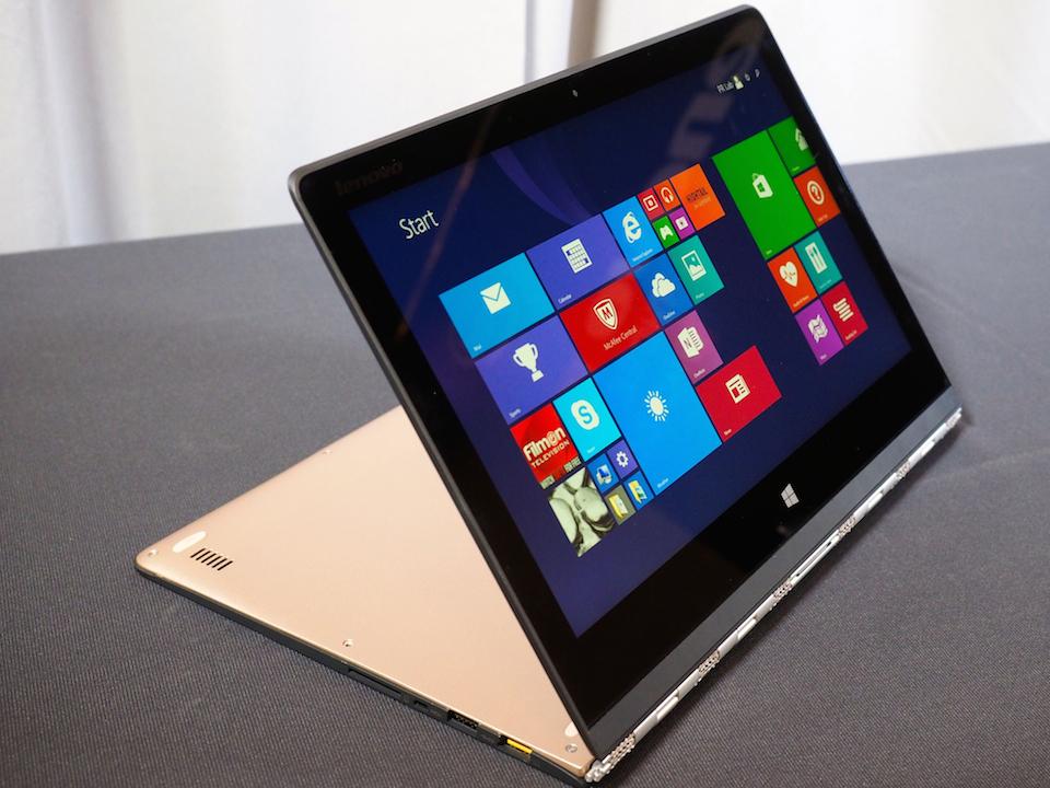 Новый сезон Lenovo: ThinkPad мощнее, Yoga 3 тоньше и Yoga Tablet с проектором