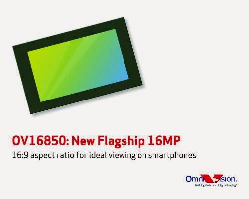 Серийный выпуск OmniVision OV16850 производитель рассчитывает начать в первом квартале 2015 года