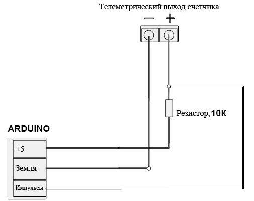 Подключаем Arduino к счетчику электроэнергии