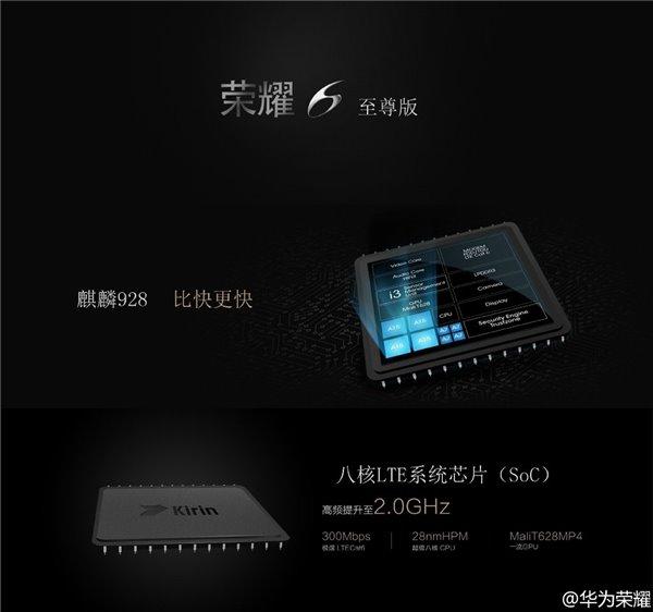 В Huawei Honor 6 Pro используется процессор HiSilicon Kirin 928