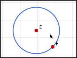 Окружность по центру и точке