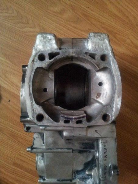 Свой 2 тактный мотор. CR620