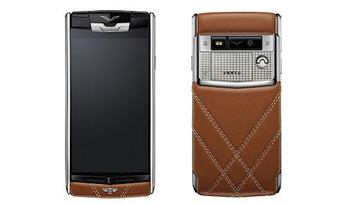 Анонс дорогостоящего смартфона Vertu for Bentley