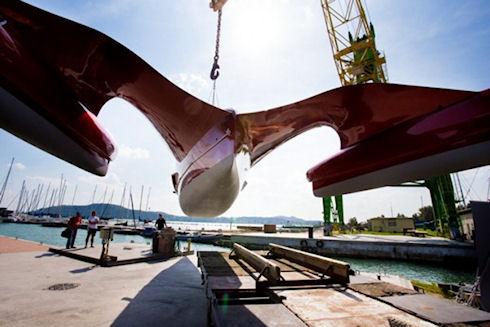 Гребная лодка Samson покорит Атлантический океан