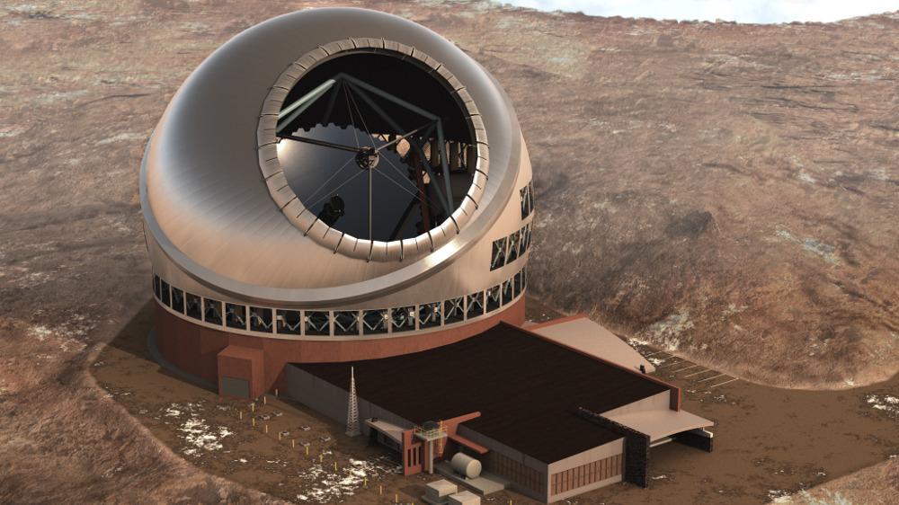 На Гавайях началось строительство 30 метрового оптического телескопа