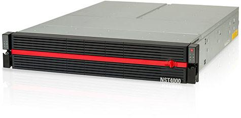 Объем Nexsan NST4000 может достигать 2,1 ПБ