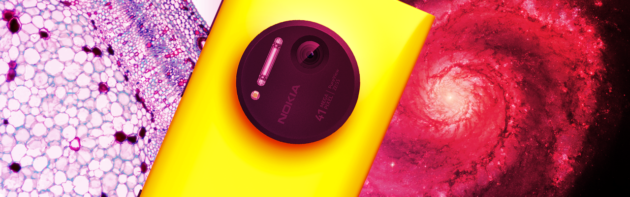 Исследуем большие и малые миры с Lumia 1020