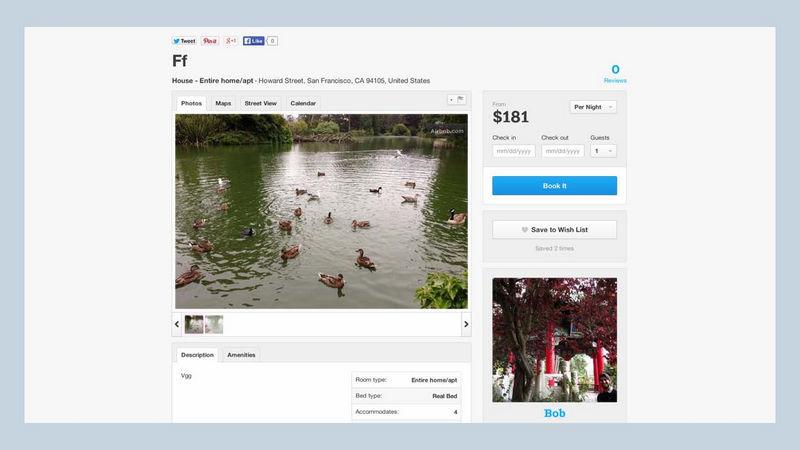 Поисковые технологии в Airbnb