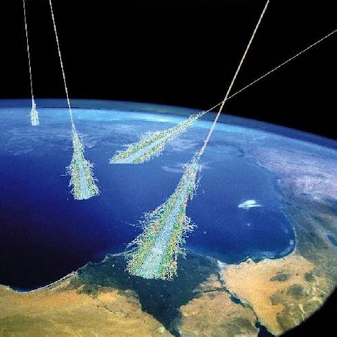 Смартфоны помогут ученым в поиске космических лучей