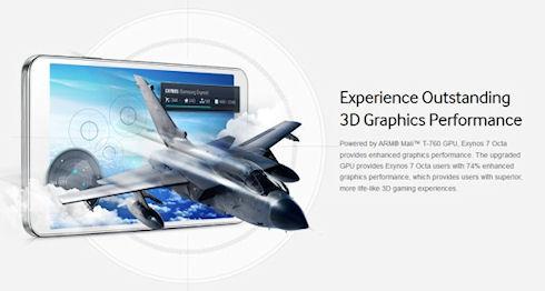 Samsung Exynos 7 Octa – новый процессор с высокой производительностью и низким энергопотреблением