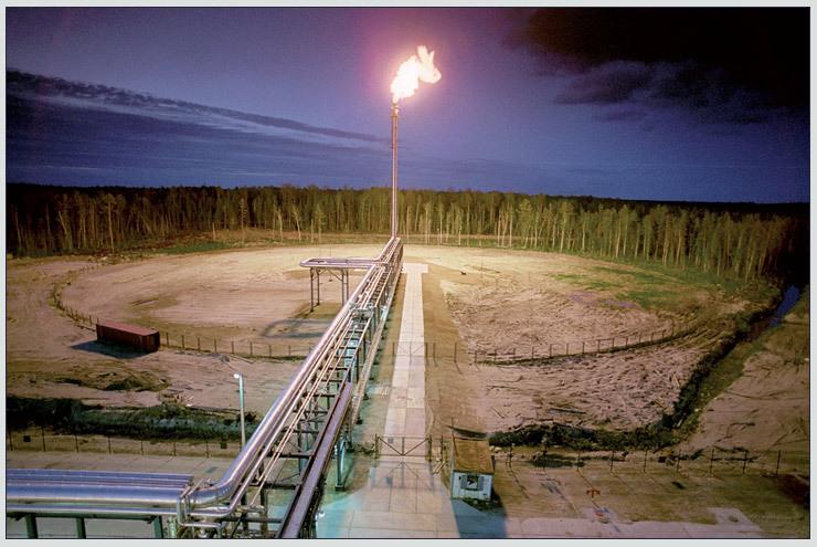 Утилизация попутного газа до электромагнитных помех