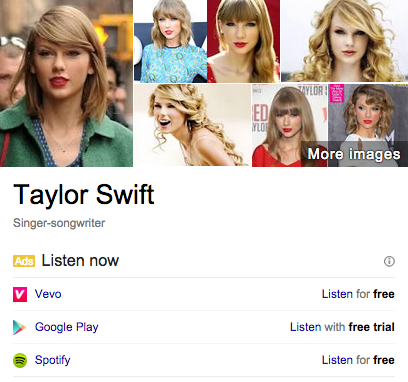 Реклама мультимедийных сервисов на Google