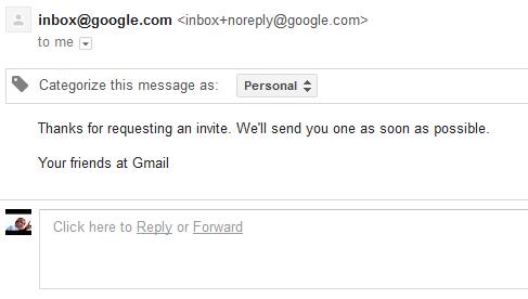 Google родил младшего брата Gmail, ещё одну почту — Inbox