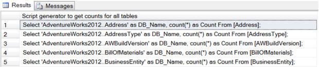 Исследуем базы данных с помощью T SQL