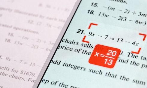 PhotoMath поможет стать математическим гением