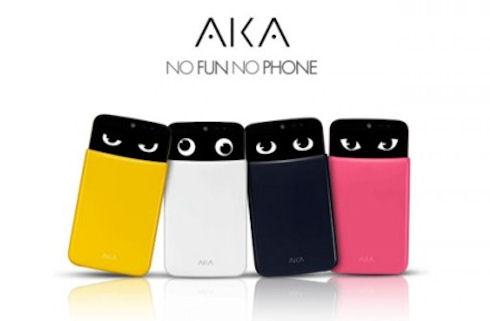 Эмоциональный смартфон AKA от легендарной LG