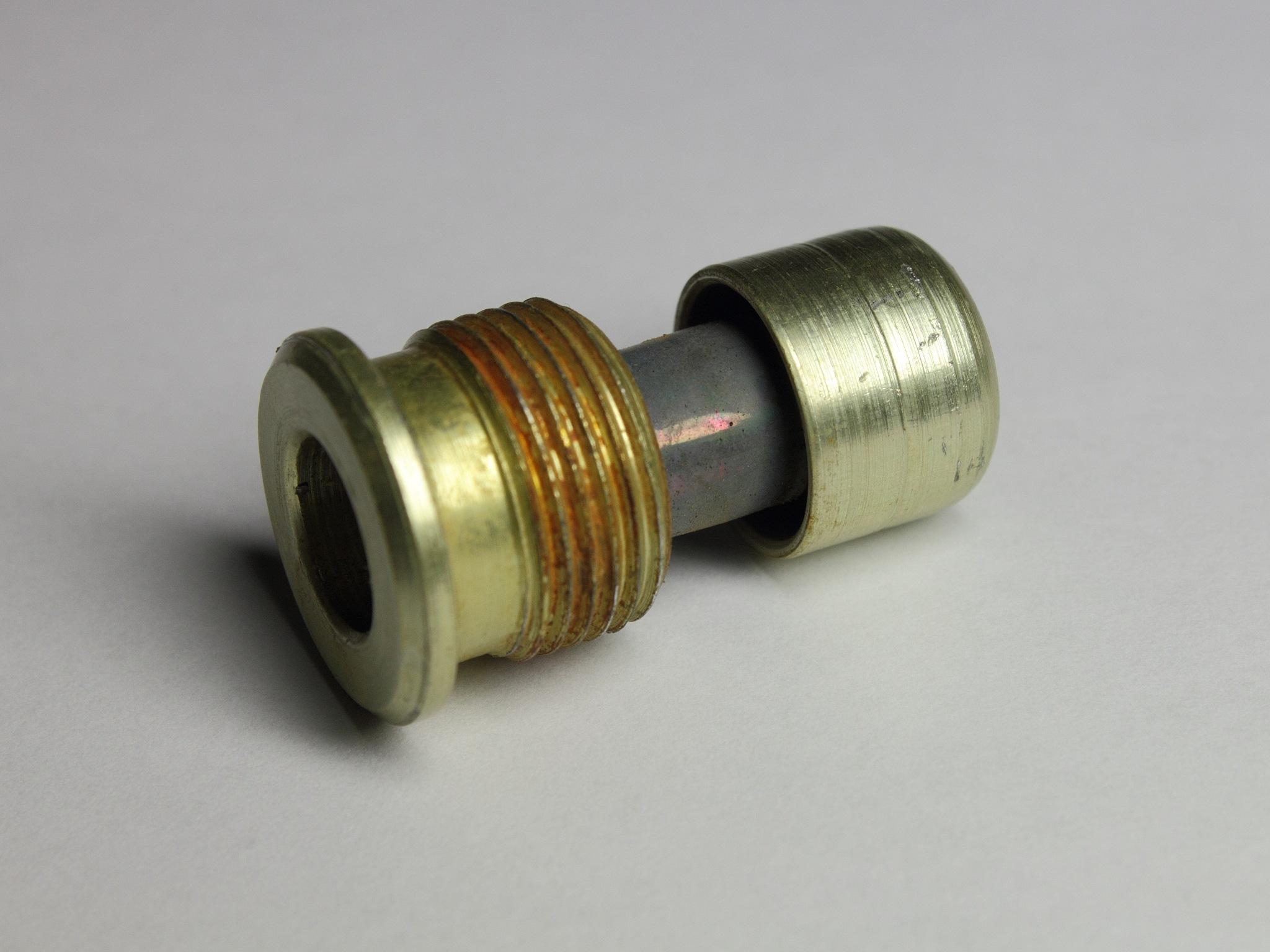 Плутониевый источник из датчика дыма РИД-1