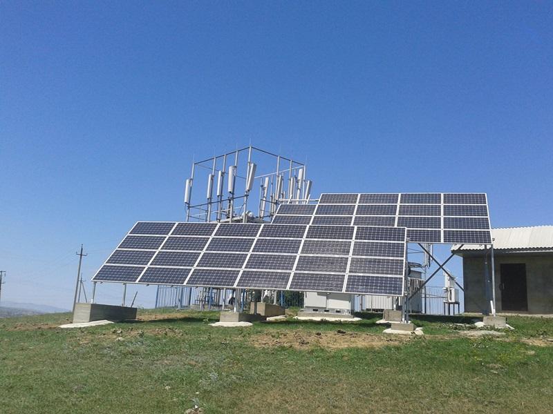 Репортаж: базовая станция на солнечных батареях
