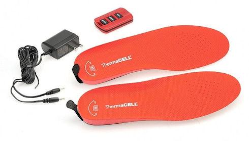 Стельки ThermaCell Rechargeable Heated Insoles — лучший обогреватель для ног