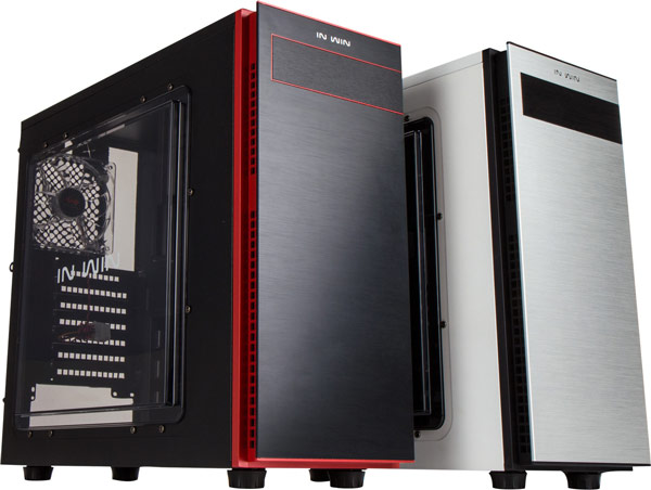 В корпусе In Win 703 помещается системная плата типоразмера microATX или ATX и до семи карт расширения