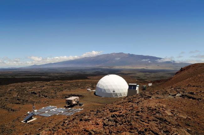 Как будет выглядеть поселение на Марсе?
