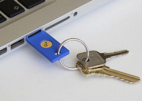 Защитой пользовательских аккаунтов займётся Google USB Security Key