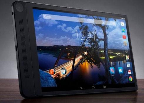 Dell выпустит планшет с 3D камерой