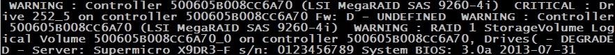 Контроль исправности сервера под управлением гипервизора VMware vSphere ESXi v5