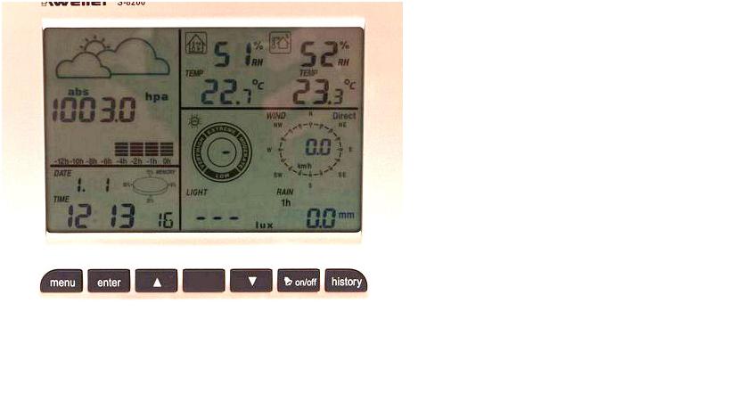 Профессиональная метеостанция Kweller S 8200