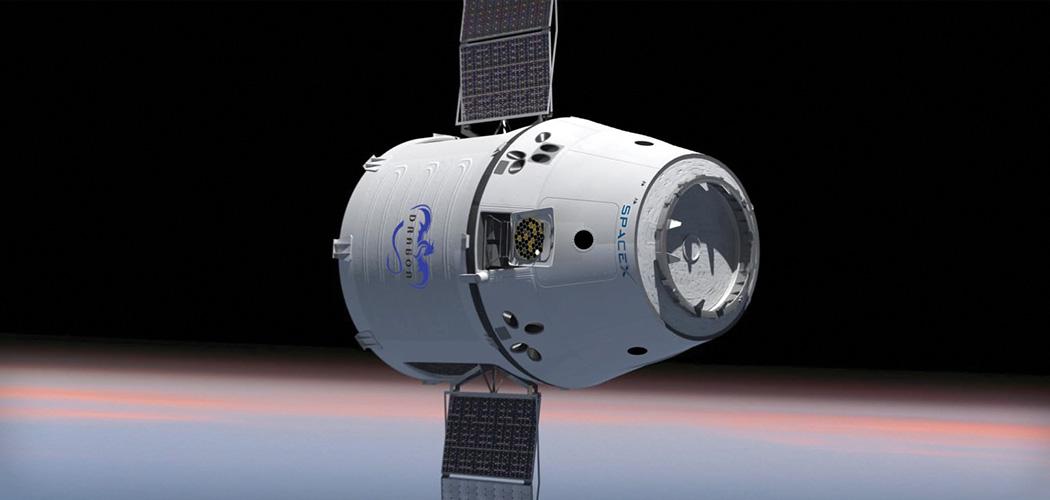 Космический грузовой корабль Dragon компании Space X успешно завершил четвертую миссию