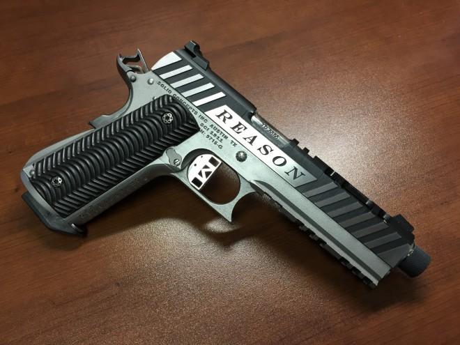 Металлический пистолет напечатали на 3D принтере