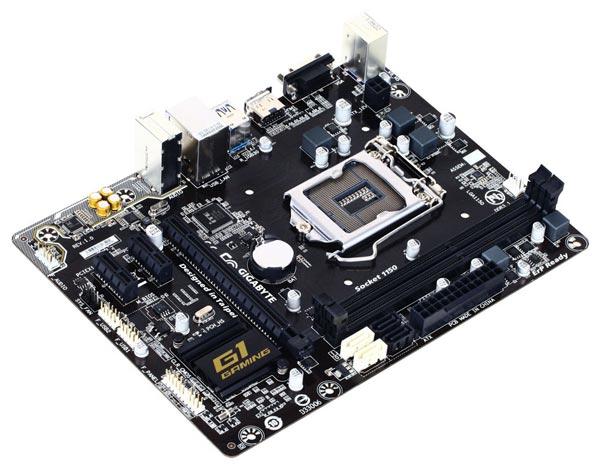 Плата Gigabyte H81M-Gaming 3 поддерживает процессоры Intel в исполнении LGA 1150