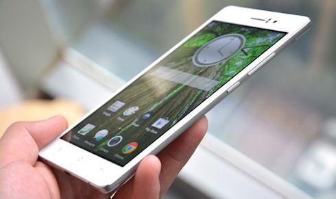 Oppo R5 претендует на звание самого тонкого телефона