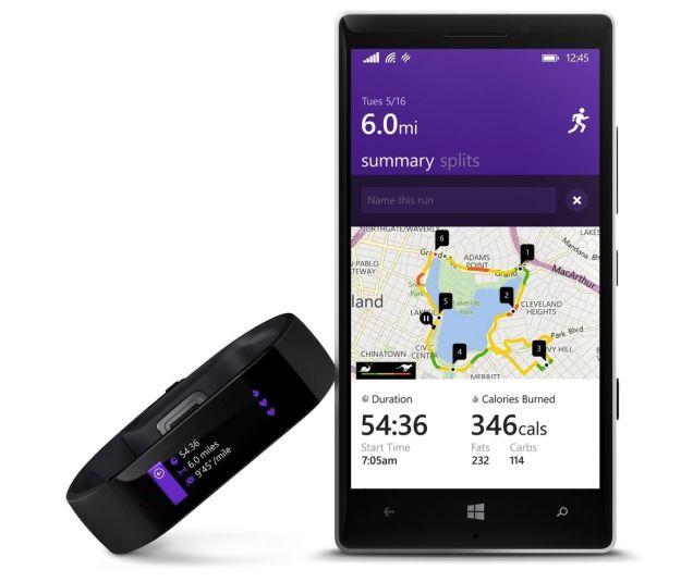 Корпорация Microsoft представила Microsoft Band: фитнес трекер + умные часы
