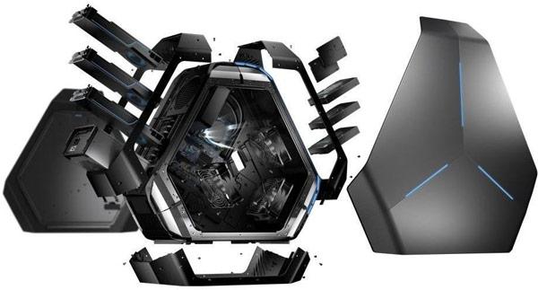 Начат прием заказов на настольный ПК Alienware Area-51 в необычном корпусе