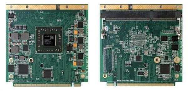Четырехъядерный процессор SoC AMD GX-420CA работает на частоте 2,0 ГГц