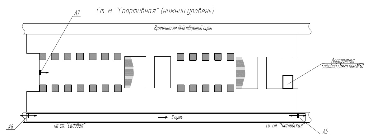 Организация сотовой связи в метро — опыт Петербурга