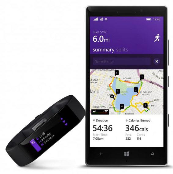 Умный браслет Microsoft Band стоит $199