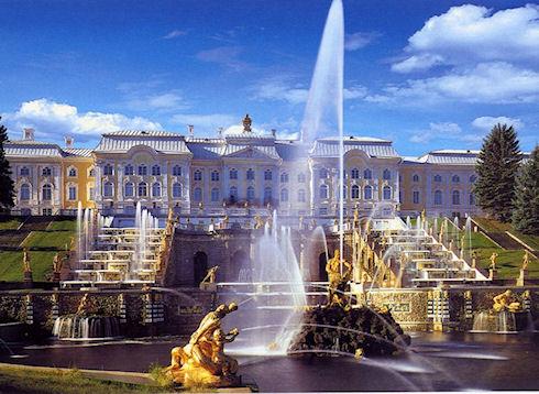 Романтические места для прогулок в Петергофе