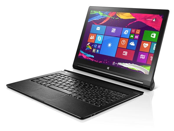 13-дюймовый планшет Lenovo Yoga Tablet 2 работает в четырех режимах