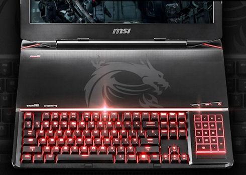 Игровой ноутбук с механической клавиатурой GT80 Titan от MSI