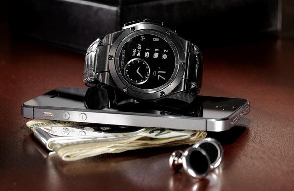 Устройство MB Chronowing похоже на обычные часы