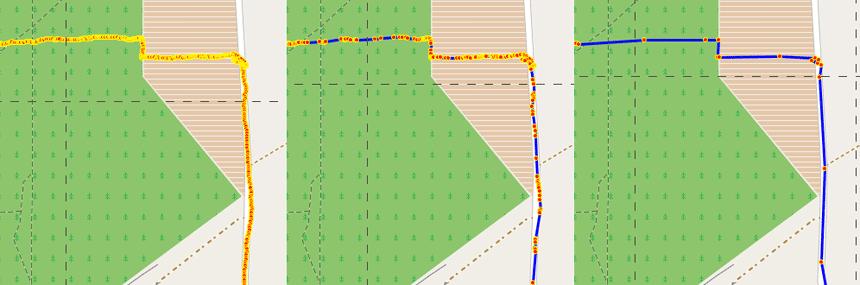 Алгоритмы устранения ложных и избыточных данных в GPS потоке